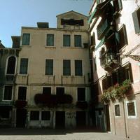 Left-hand view of façade of Scuola di San Rocco